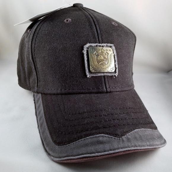 f9a2d6c2897 Indiana Jones Black Baseball Cap Dorfman Pacific